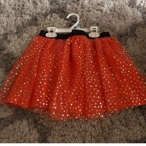 Halloween Tutu with built in shorts